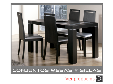 Categoria Conjuntos de Mesas y Sillas de Muebles Madrid