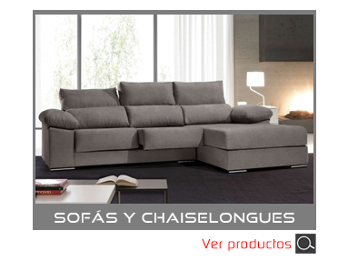 Categoria Sofas y Chaiselongues de Muebles Madrid
